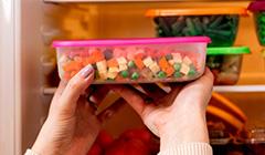 Como congelar alimentos como carnes, sopas e verduras